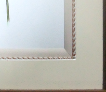 ボタニカル額装例 デザインコードの装飾