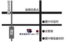 株式会社ホームトップの地図