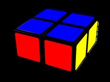 cubo de 2x2x1, terminado