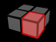 cubo de 2x2x1, pieza