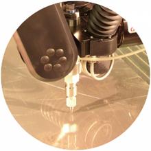 Materialschonendes Verfahren ohne Gefügeveränderungen durch thermische Einflüsse.