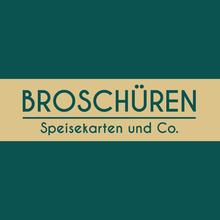 Speisekarten, Broschüren und Co.