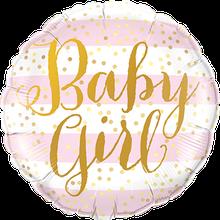 Ballon Folienballon Baby Boy Girl blau Geburt Taufe Geschenk Überraschung Versand Deko Dekoration Babyparty