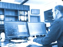 Software Entwicklung für industrielle Elektronik – Systeme zur Steuerung und Regelung von Prozessen, der Erfassung, Übertragung, Verarbeitung und Visualisierung von Messwerten.