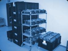 Verwaltung einer Bauteile-Börse für Restbestände abgekündigter Bauteile bei Andreas Müller Electronic GmbH
