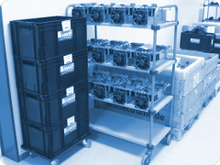 Verwaltung von Konsignationslagern unserer Kunden bei Andreas Müller Electronic GmbH