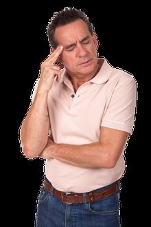 Wenn Ohren und Schläfen schmerzen, kann das von den Kiefergelenken kommen (© Sarah Cheriton-Jones - Fotolia.com)