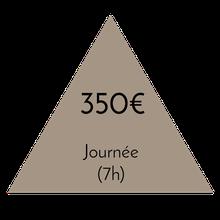 Prix accompagnement shopping journée complète - 7 heures - 350€