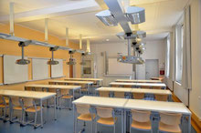 Der neue Biologieraum