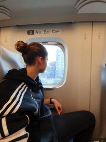 Shinkansen erinnern mich an Flugzeuge mit großen Fenstern