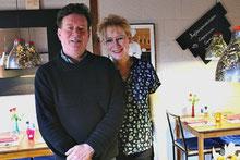 Eigenaars Wim en Anja Temming