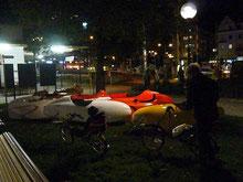 Nachts in Bregenz ist nicht alles grau ...