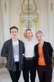 Manu Mayr, Mira Lu Kovacs, Stella Rollig (Belvedere). (c) eSeL / Lorenz Seidler