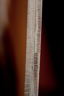 ars scutae parma lamas de roble construccion escudo romano centurion detalle canto lamas