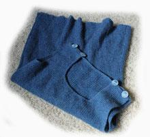 Wämschen aus Wolle für Babys oder Kleinkinder gestrickt von ritsch-ratsch