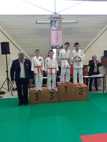 Photo du podium de Mennad