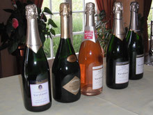 Vauversin's full range of Grand Cru Champagne