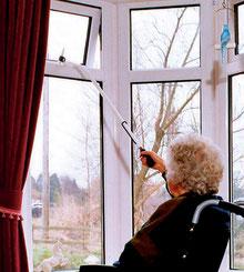 Bild: Griffverlängerung für Fenster