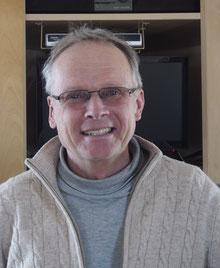 Robert Schardt in seinem Büro im Wetterturm