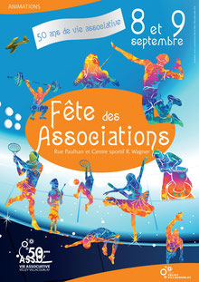 Fête des Associations 2018 à Vélizy.