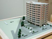 マンション模型の画像