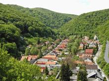 Panorama auf Felsőhámor