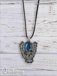 Colgante con Tótem búho, Tótem, colgante búho, simbolismo búho, búho  animal espiritual