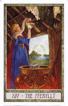 Bild: DruidCraft Tarot by Philip Carr Gomm