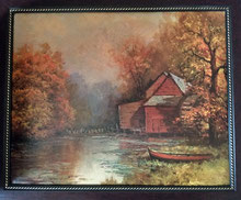 """22.5"""" x 18.5""""   I   20"""" x 16"""" (picture size)  $180"""