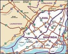 www.inspectdetect.com et son inspecteur en bâtiment Daniel Gaudreau se déplace sur un grand territoire dans le Québec