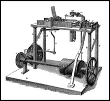 1868  Amos  Holbrook Jr. 's machine
