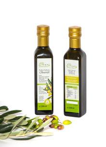 Extra-natives Olivenöl von der Koroneiki-Olive