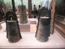 まさに銅鐸博物館。大岩山銅鐸の山(野洲市立銅鐸博物館蔵)