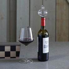 Mini-Weindekanter , Dekanter, Dekantierer, kleiner Weindekantierer, Dekanter für die Flasche