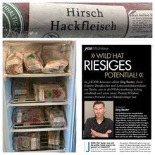 Wildfleisch Verkauf Berlin