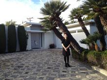 at Ellen studio 2012