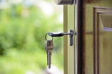 Miete Wohnungsschlüssel Haustür
