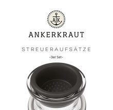 Ankerkraut Streueraufsätze für Korkengläser