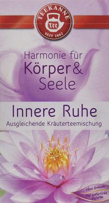 Teekanne Innere Ruhe Kräuterteemischung  - Harmonie für Körper & Seele