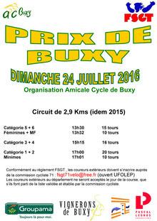 Prix cycliste de Buxy