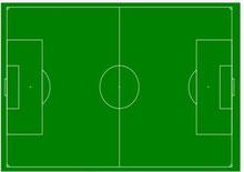 campo da calcio in ostia