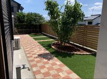 庭をスッキリとリノベーション  小牧市 K様邸 造園工事・外構工事