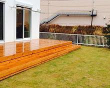 子どもと友人が集える緑が映える庭   岐阜県可児市 I様邸 造園工事・外構工事