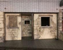 株式会社エクセル(外構・造園 岐阜県) 店舗のファサードをモルタル造形で作成