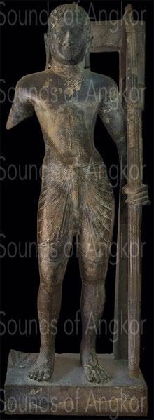 Preah Ream. 6th century. Origin: Angkor Borei, Takeo province. National Museum of Cambodia.