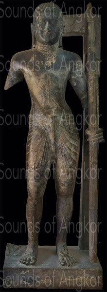 Preah Ream. VIe s. Provenance : Angkor Borei, province de Takeo. Musée national du Cambodge.