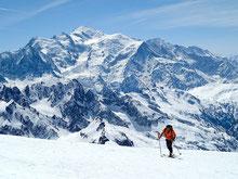 Mont Buet, face au Mont-Blanc - C.Ducroz