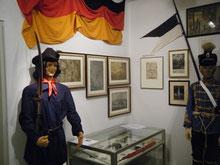 Preußischer Husar in der Gardeuniform
