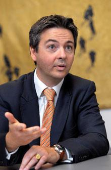 """Cédric de Fonclare: """"Das Schlimmste, was der westlichen Welt passieren könnte, ist ein starkes Ansteigen der Zinsen."""""""