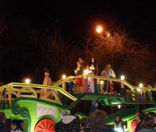 Cabalgata del 5 de enero de 2012 en Vicálvaro